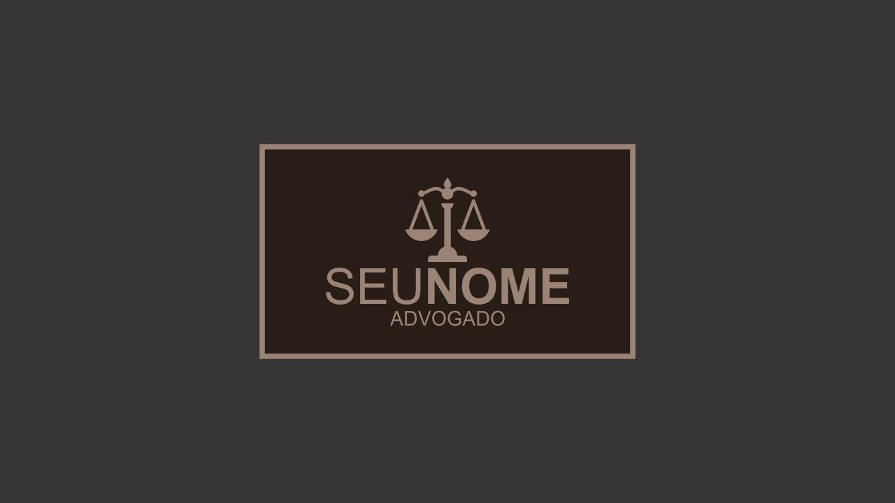 Use esse logo de advogado para divulgar seus serviços de advocacia. Bons serviços merecem uma boa representação. Esse logo editável de advogado pode ser seu!