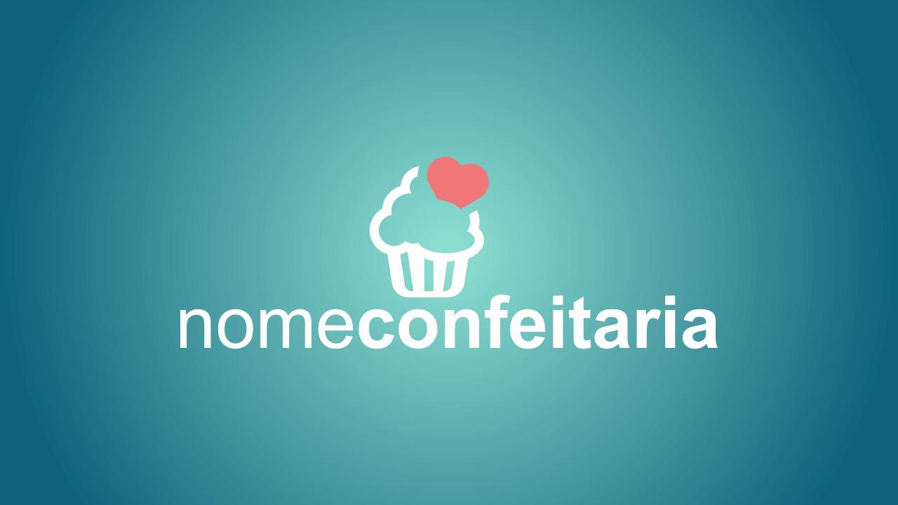 Esse logo confeitaria é vetor, simples e ao mesmo tempo elegante. Edite-o usando o Corel Draw.