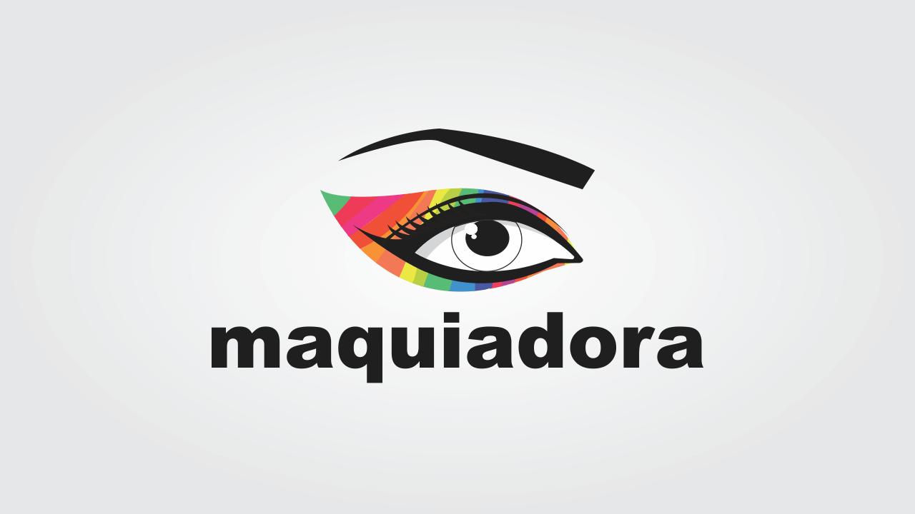 Esse logo maquiadoravetor, disponível no Criativoon, é essencial para a profissional das maquiagens se destacar ainda mais no mercado.