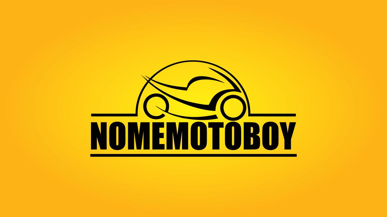 Use esse logo de motoboy vetor em suas ações de marketing.