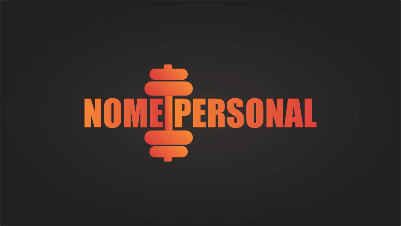 Esse logo personal trainer faz uso de cores fortes: vermelho e laranja. Essas cores dão a impressão de que o seu trabalho é forte. Se você quer passar essa image, pode usar esse logo personal trainer que é sucesso na certa.