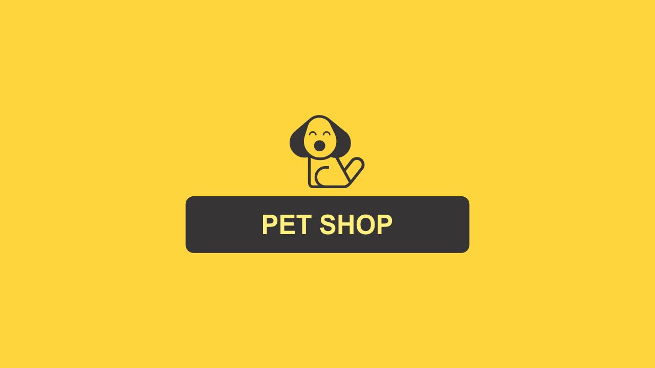 Esse logo pet shop é vetor. Divulgue seu pet shop com esse logo bonito e editável!