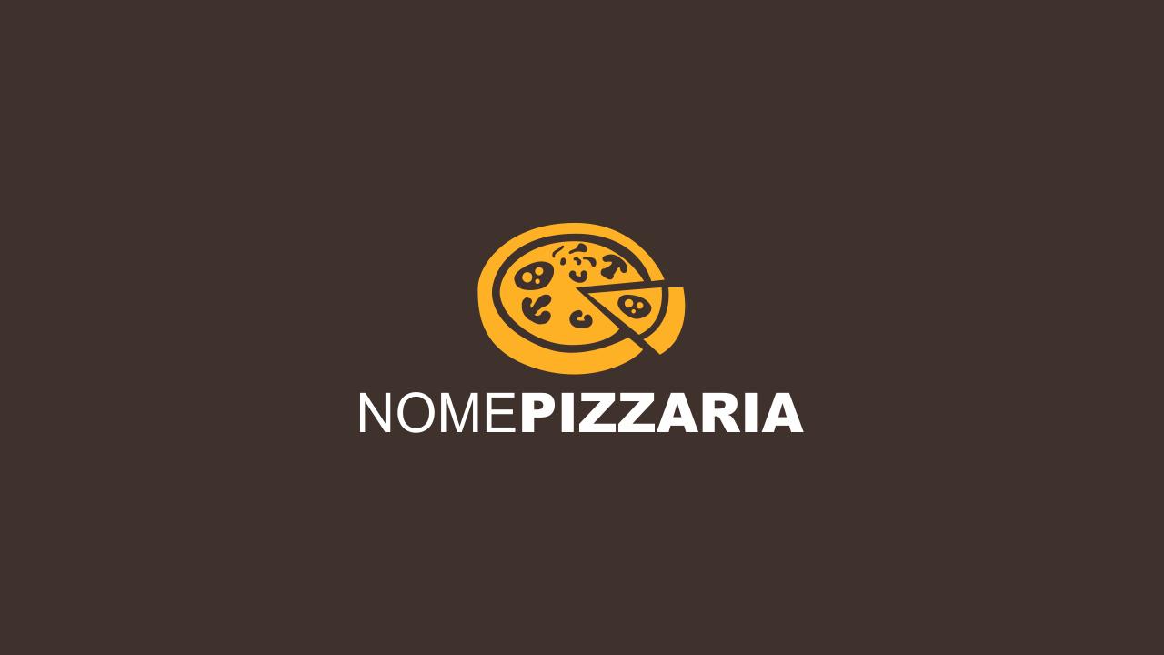 Esse logo de pizzaria é vetor, ou seja, editável. Edite a marca usando o Corel Draw.