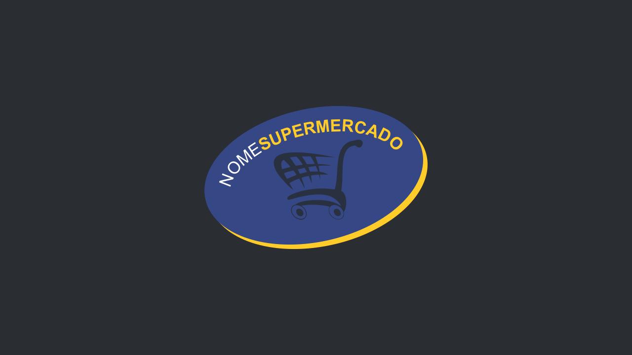 Use esse logo de supermercado para divulgar seu supermercado com maestria e profissionalismo!