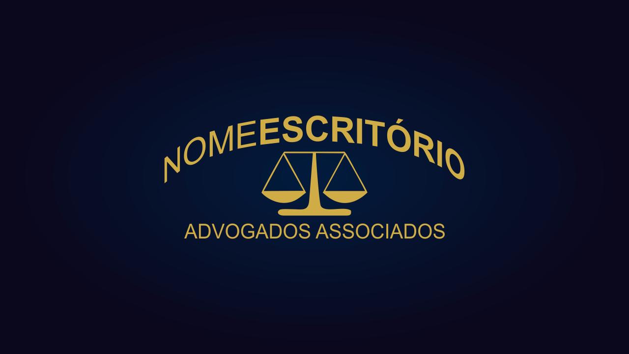 Essa logomarca advocacia é simples, mas não perde o profissionalismo. A logomarca de advocacia é vetor.