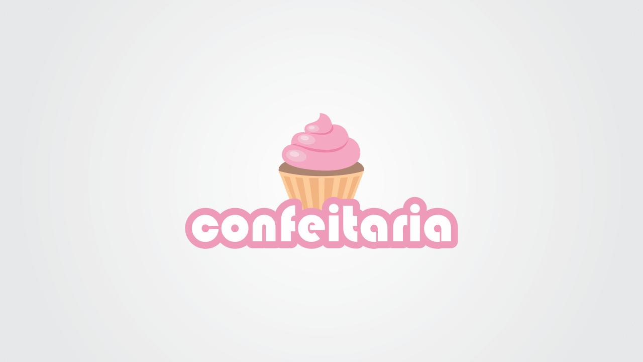 Use essa logomarca de confeitaria em seus impressos, cartões de visita e panfletos, também redes sociais. Essa logomarca de confeitaria é vetor, quer dizer que você pode edita-la.