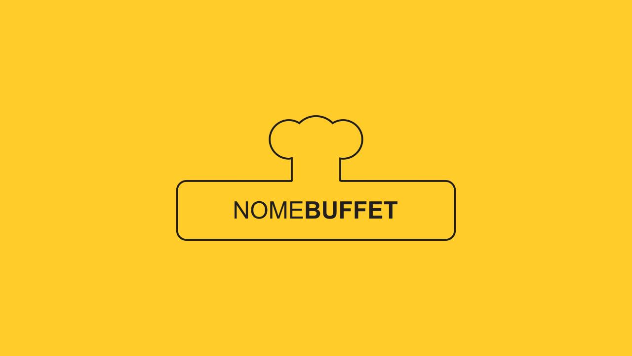 Profissionalize seu buffet usando essa super logomarca de buffet, que é vetor e fácil de editar!
