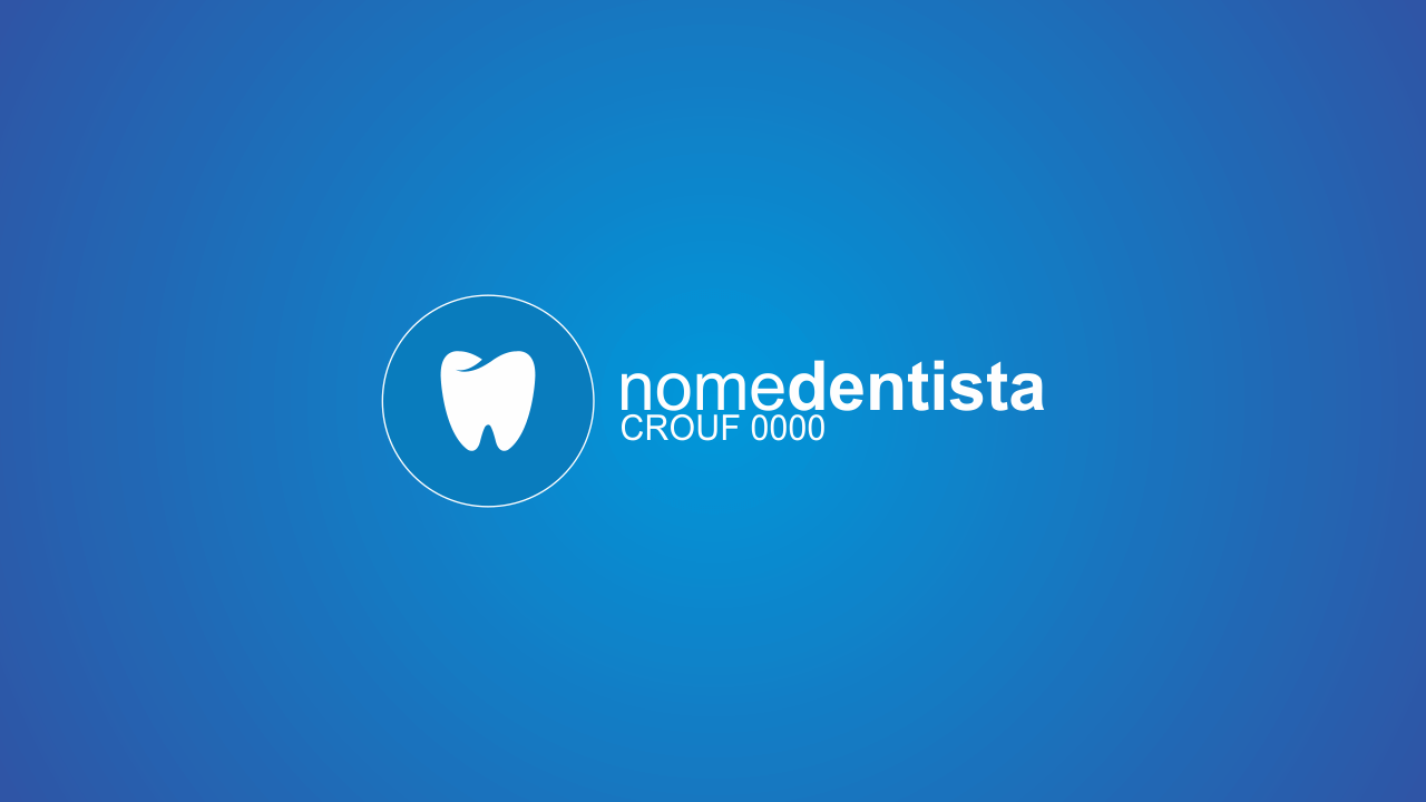Essa logomarca para dentista é totalmente vetor, ou seja, é editável. Faça uso agora mesmo dessa marca de dentista!