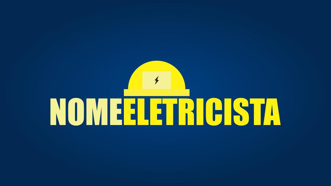 Essa logomarca eletricista já está pronto para você usar, gostou? Você nem precisou contratar um designer gráfico profissional para cria-lo. Basta editar com seu nome de eletricista e pronto.