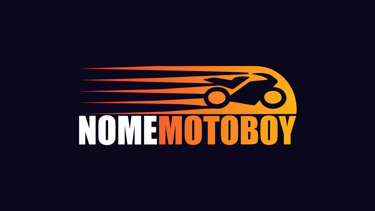 Faça uso dessa logomarca de motoboy, que é vetor e profissional.