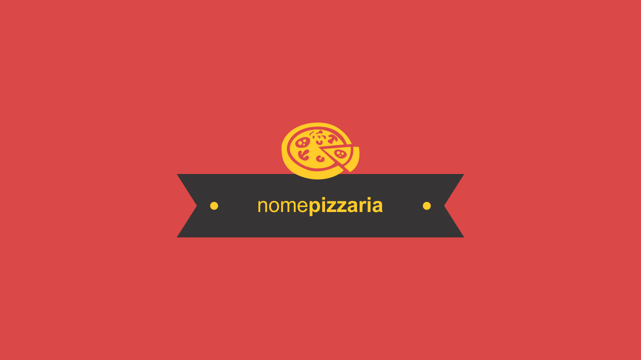 Faça o uso dessa logomarca de pizzaria vetor.
