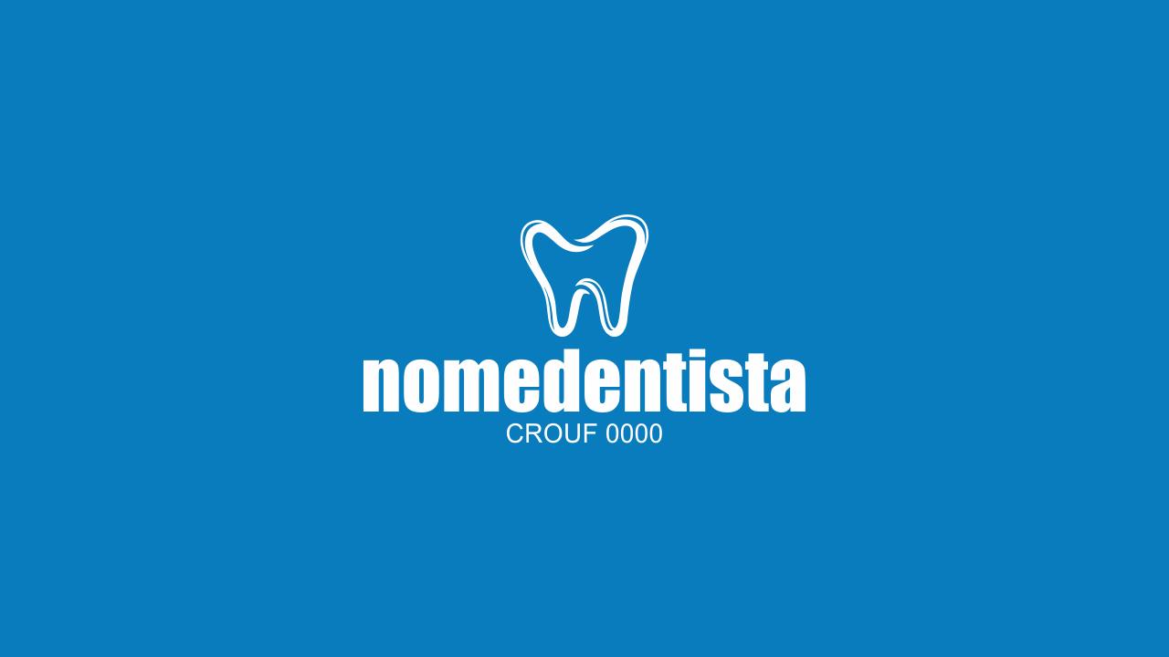 Esse logotipo dentista é totalmente editável (vetor), ou seja, você conseguirá edita-lo, use o Corel Draw. O logotipo de dentista possui ainda as informações para você incluir o número do CRO. Sucesso!