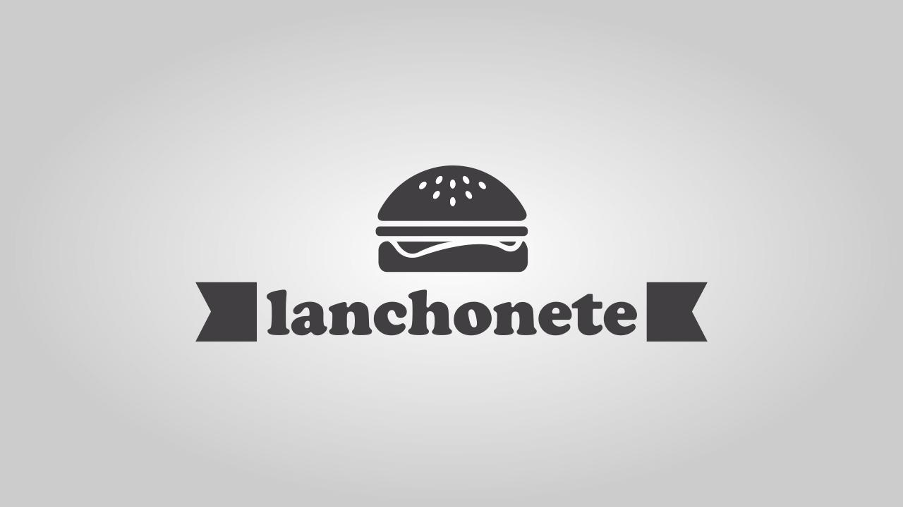 Segundo logotipo de lanchonete vetor que você pode fazer o uso agora mesmo.