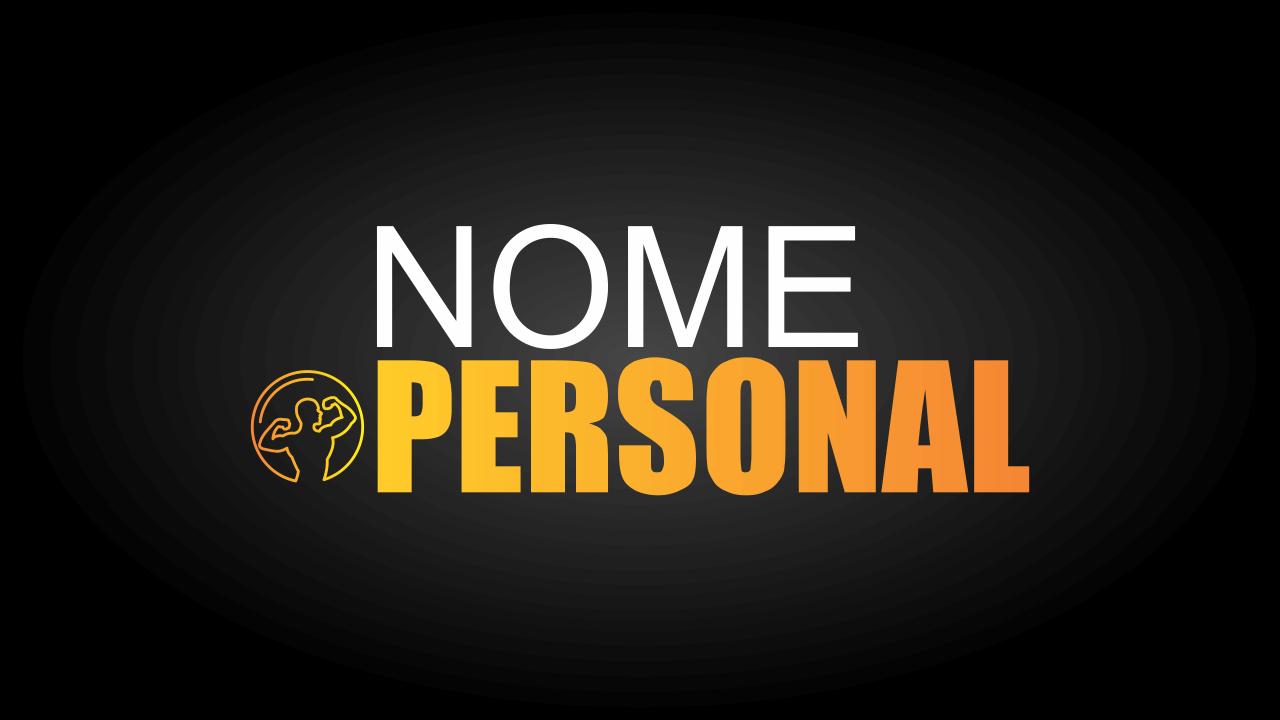 Esse logotipo personal trainer é profissional, ou seja, você não precisa contratar um designer gráfico para criar a sua marca, pois isso já foi feito por designers profissionais. Para editar esse logotipo de personal trainer, use o Corel Draw.