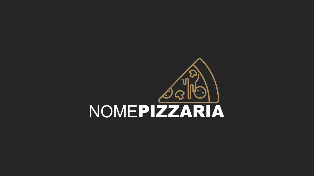 Logotipo pizzaria é vetor, ou seja, você pode edita-lo facilmente através do Corel Draw.