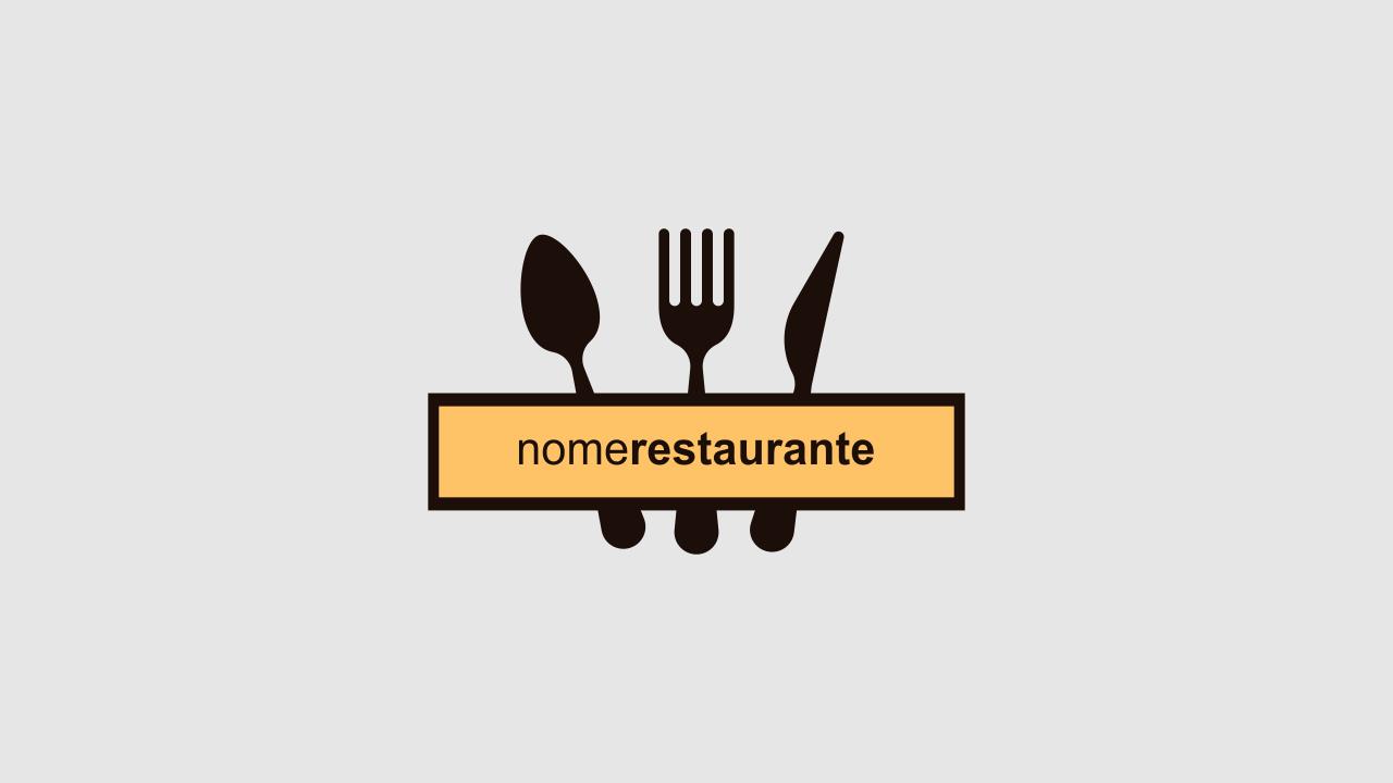 Use esse logotipo de restaurante para divulgar os almoços e jantares do seu restaurante. Esse logotipo de restaurante é vetor!
