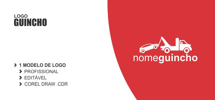 Faça uso desse logo de guincho vetor em seu negócio de auto socorro!